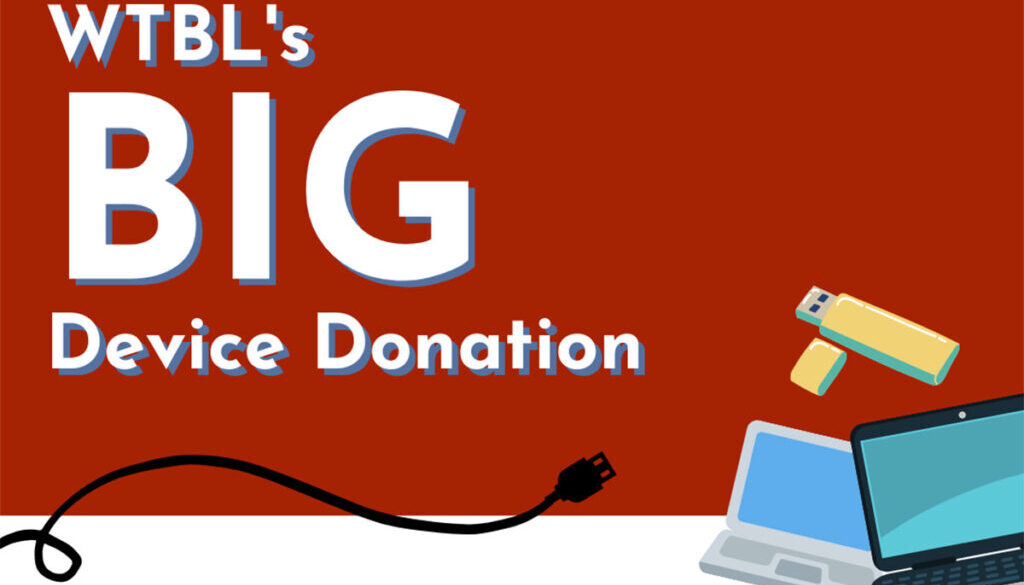 the big device donation news