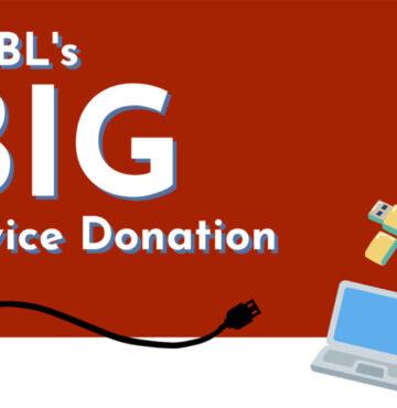 the big device donation news