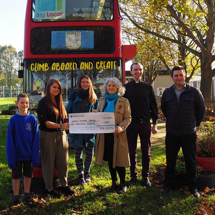 wormley school art bus get involved
