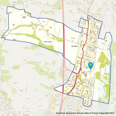 wormley turnford map