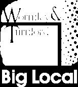 wormley turnford big local white logo