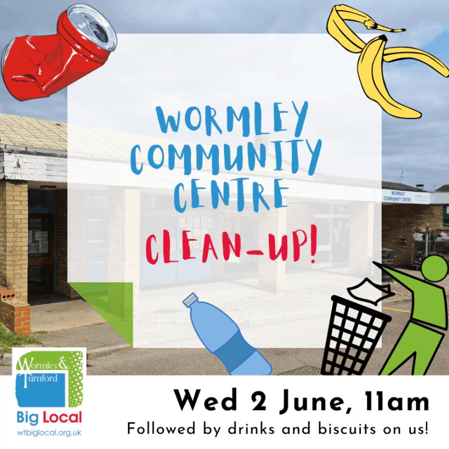 Community Centre Clean up