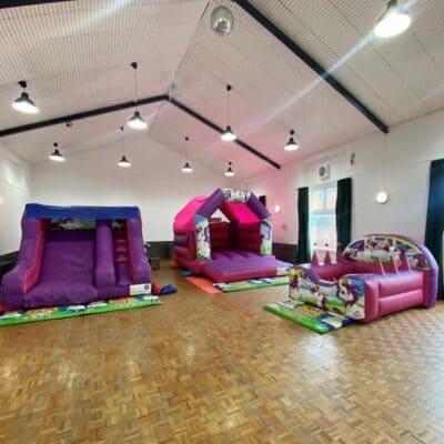 bouncy castles community centre