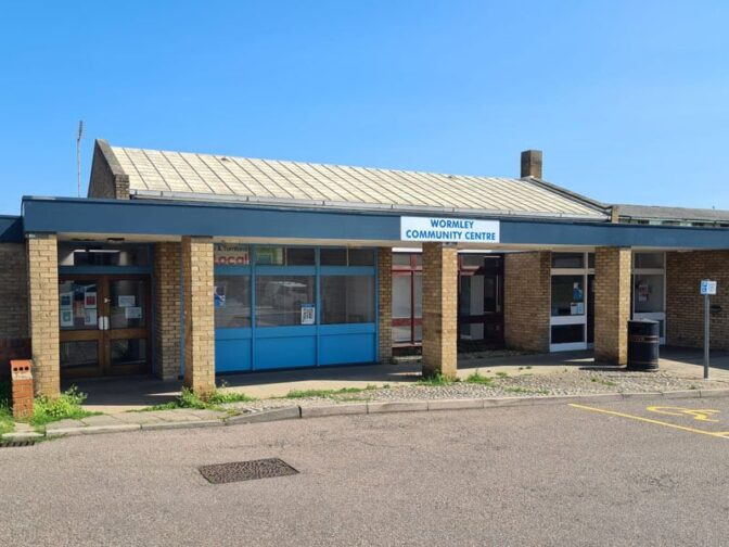 wormley community centre booking main
