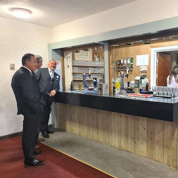 wt big local community centre licenced bar