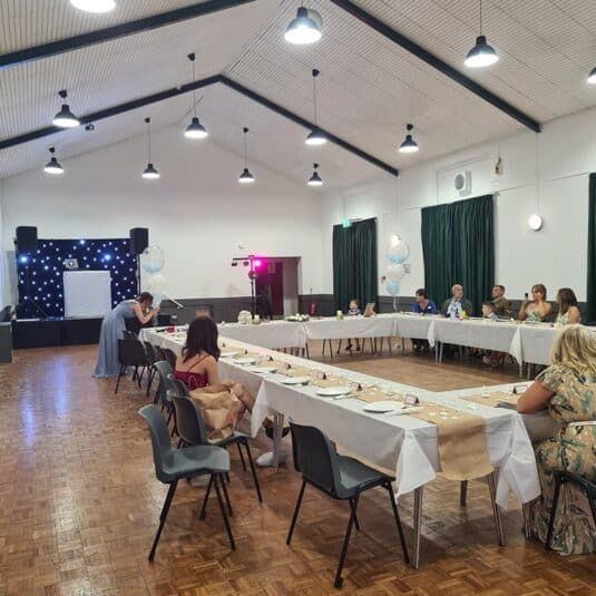 wt big local community centre wedding